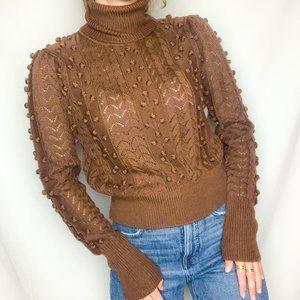 Telurosa Achilles Chocolate Brown Sweater